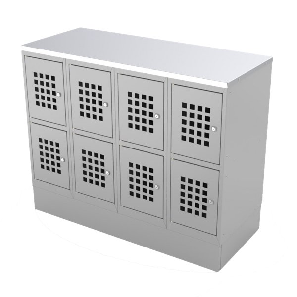 BAG CABINETS AND LOCKERS