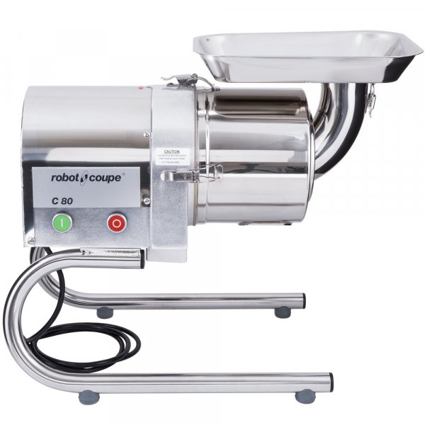 ROBOT COUPE C80 STAINLESS STEEL CONTINUOUS FEED FLOOR SIEVE / JUICER