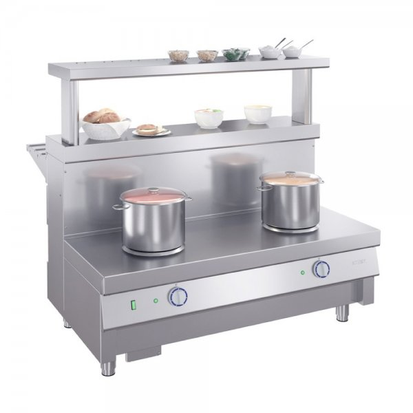 ELECTRIC 2 BURNER SOUP WARMER