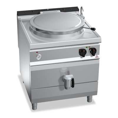 100 L ELECTRIC BOILING PAN WITH INDIRECT HEATING BERTO'S E9P10I