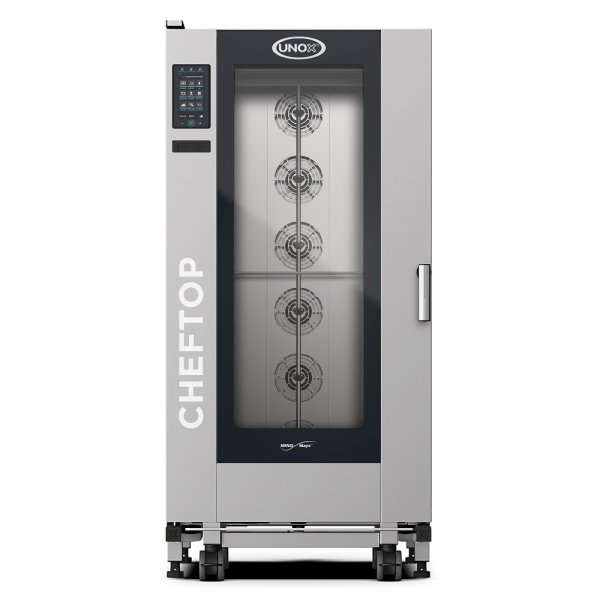 COMBI-STEAM OVEN UNOX XEVL-2011-GPRS (CHEFTOP BIG PLUS GAS)