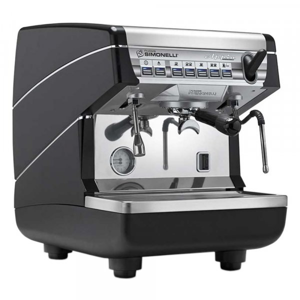 NUOVA SIMONELLI APPIA II 1 GR S BLACK COFFEE MACHINE