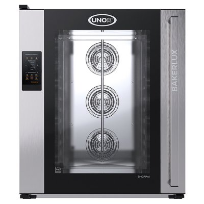 BAKERY CONVECTION OVEN UNOX XEFT-10EU-ETRV-MT (TOUCH) CAMILLA BAKERLUX SHOP.PRO™ SERIES