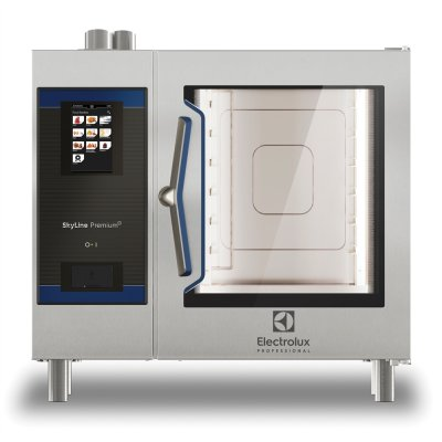 PREMIUM S ELECTRIC COMBI OVEN 6GN1/1, ELECTROLUX SKYLINE GREEN VERSION
